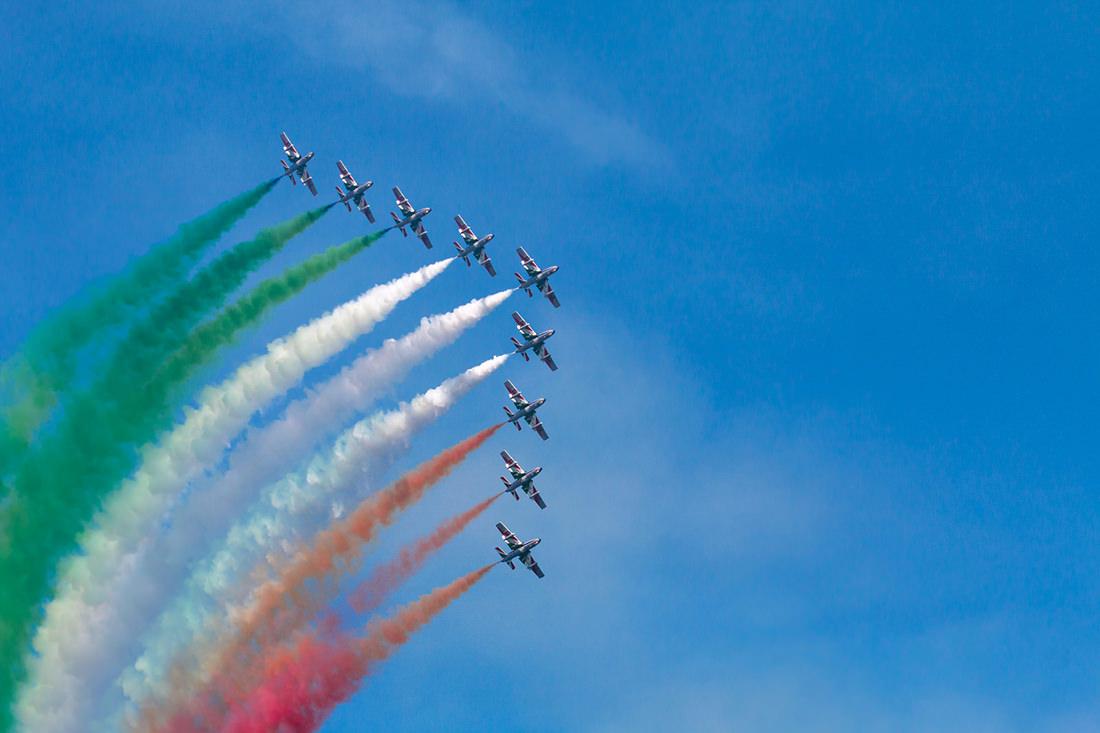 Frecce Tricolori by Tiziano L. U. Caviglia