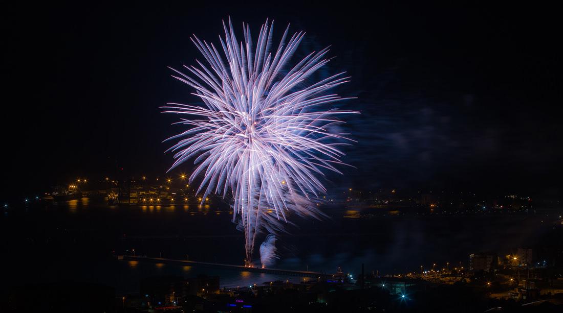 Fuochi d'artificio di Vado Ligure - Tiziano Caviglia