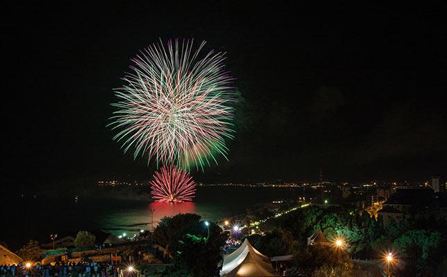Fuochi d'artificio di Savona