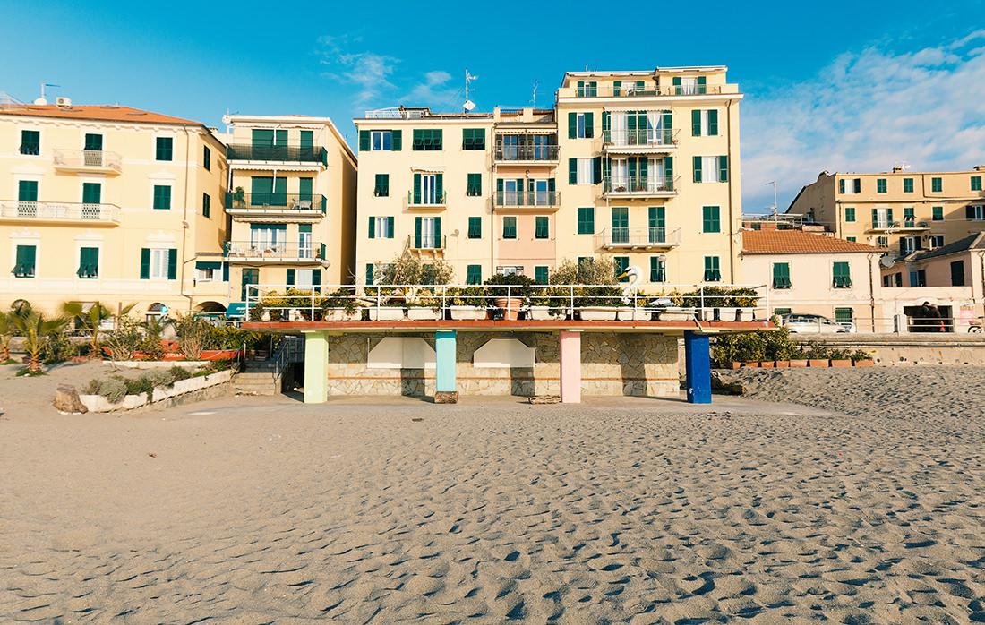 La spiaggia d'inverno by Tiziano L. U. Caviglia