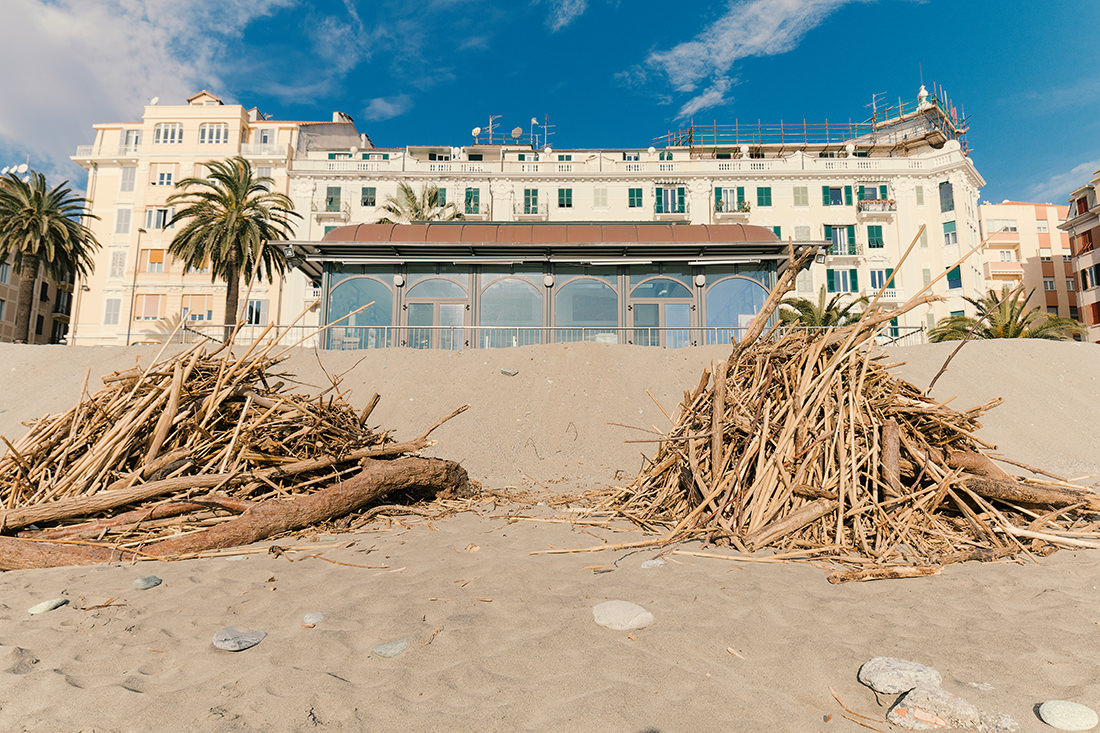 La spiaggia d'inverno - Tiziano Caviglia