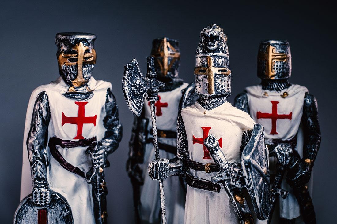 Knights Templar - Cavalieri Templari by Tiziano L. U. Caviglia