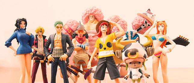 La ciurma di Cappello di Paglia di One Piece