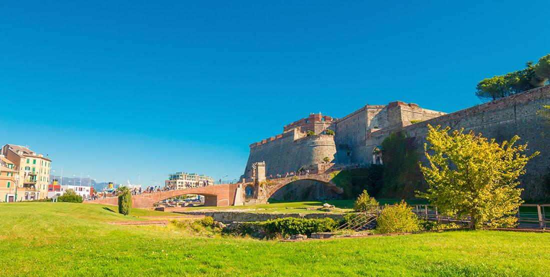 Fortezza del Priamar a Savona by Tiziano L. U. Caviglia