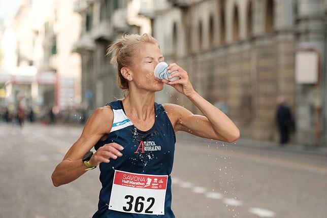 Ristoro alla Savona Half Marathon 2017
