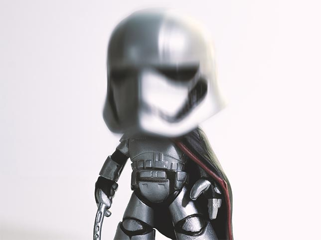Captain Phasma / 1:6 - Funko Mystery Minis Star Wars