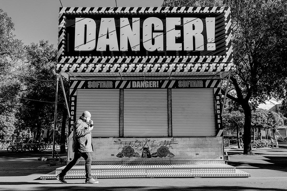 Danger Guns N' Roses by Tiziano L. U. Caviglia