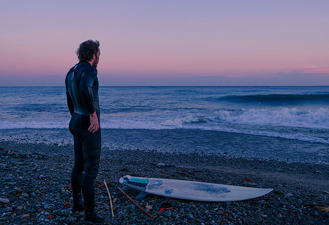 Surf at blue hour - Tiziano Caviglia