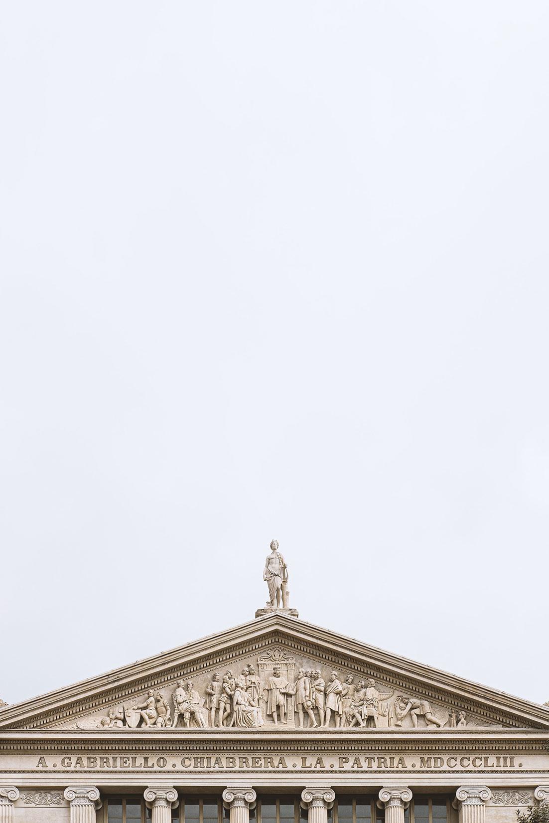 The Sky Above Savona - Chiabrera Theatre by Tiziano L. U. Caviglia
