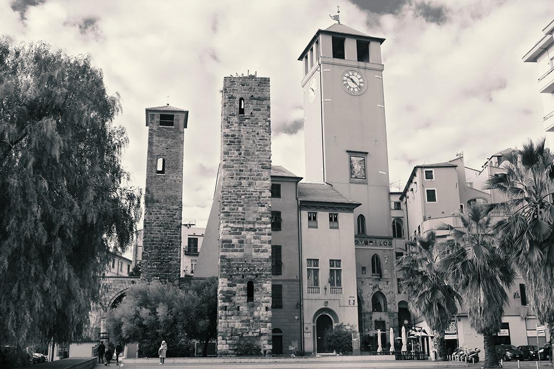 Torre del Brandale A Campanassa by Tiziano L. U. Caviglia